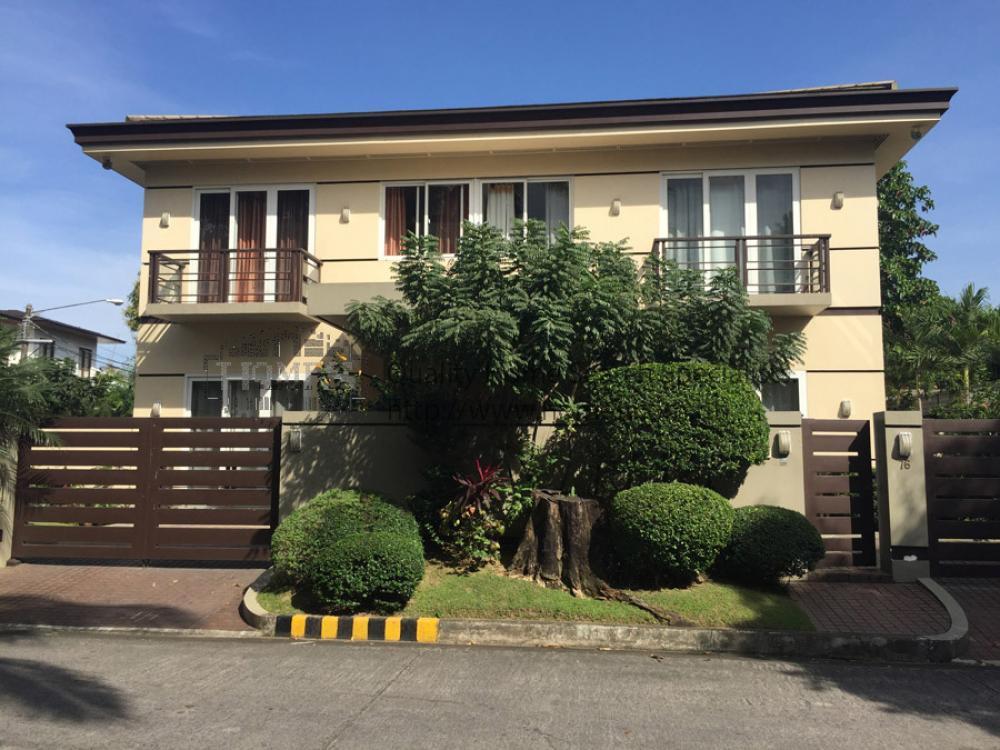 Modern 2 Storey Corner House House Lot For Rent Lease In Valle Verde Va001986