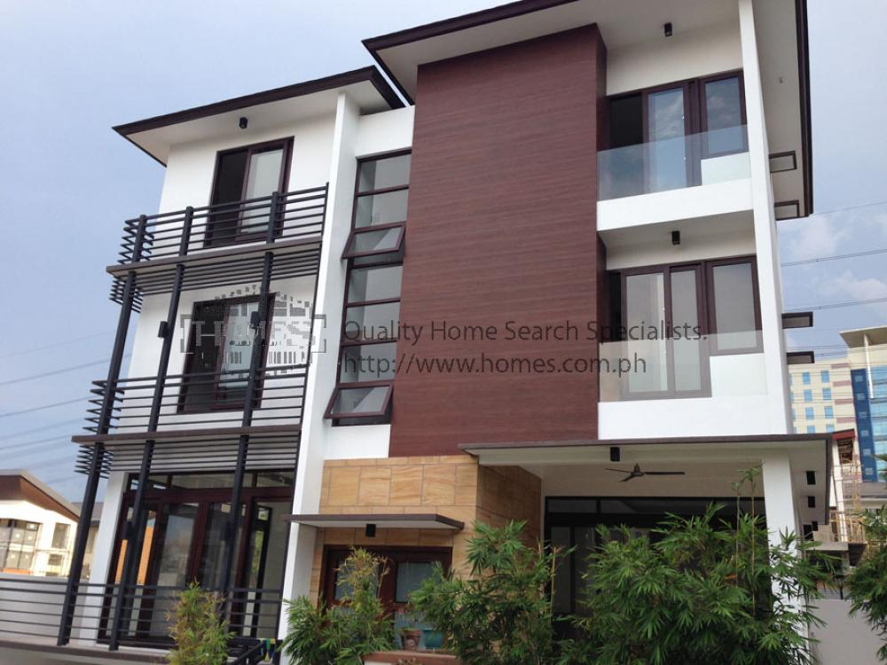 Brand new modern 4 storey house house lot for rent lease for Modern house rental
